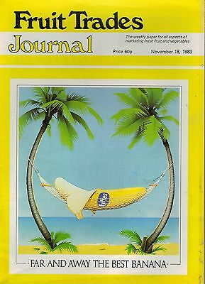 1983 18 NOV 57350  Fruit Trades Journal Magazine NO HIDING PLACE IN LEEDS MARKET
