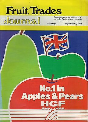 1982 3 SEPT 57344  Fruit Trades Journal Magazine GREEK EEC ENTRY A DISASTER