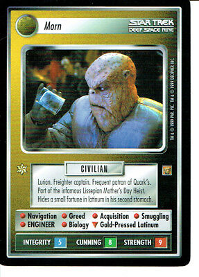 STAR TREK CCG RULES OF ACQUISITION RARE CARD KASIDY YATES