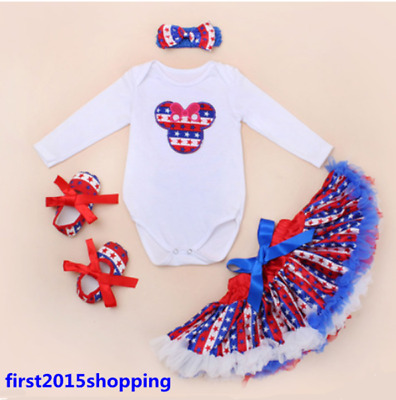 Reborn newborn baby girl doll Star pattern clothes Clothing set skirt+shoes DE