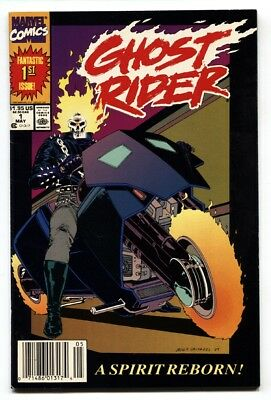 GHOST RIDER Vol. 2 #1 1990-VF/NM-comic book-Marvel