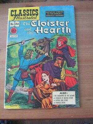 Classics Illustrated # 66 - December 1979 Gilberton The Cloister and the Hearth