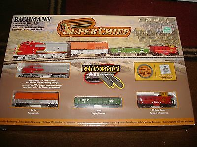 "Bachmann ""Super Chief"" N Scale Train Set New Factory Sealed"