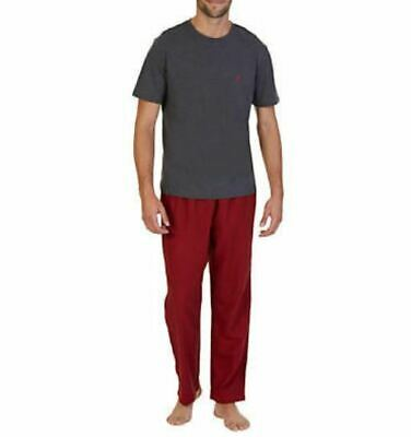 Nautica Men's 2-Pc. Set Flannel Lounge Sleep Pants Shirt Assorted Colors M L Xl