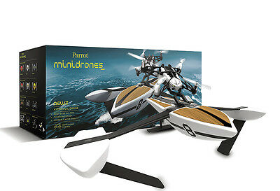 Parrot MiniDrone Hydrofoil NewZ (White) 2-in-1 Water Boat + Air Drone - RRP $239