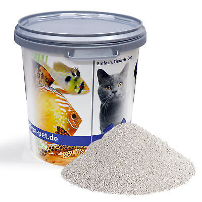 30 L Lyra Pet Cats Power Katzenstreu mit Babypuderduft Klumpstreu in 30 L Tonne