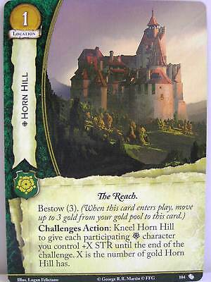 A Game of Thrones 2.0 LCG - 1x #104 Horn Hill - The Brotherhood without Banners
