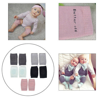 2 x Baby Infant Toddler Crawling Knee Pads Safety Cushion Protector Leg Warmer