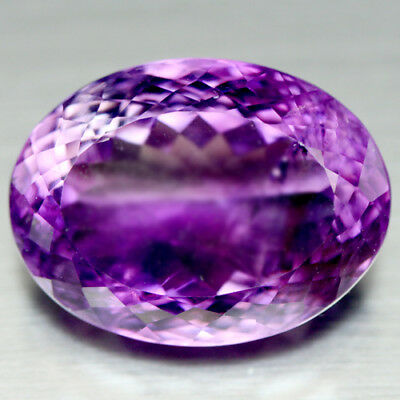 31.51 Ct Natural! Purple Clr Change To Pink Brazilian Amethyst Oval