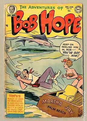 Adventures of Bob Hope #18 1952 GD- 1.8