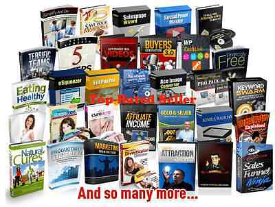 Best 750 ebooks collection of  PLR  and MRR in various category