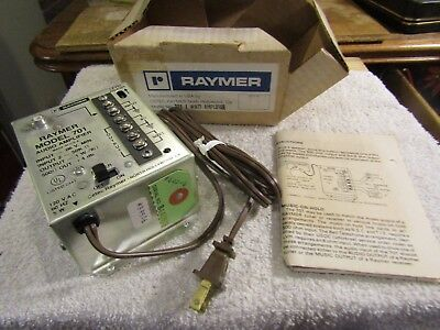 Cetec Raymer Model 701 1 Watt Amplifier Music on Hold Alarm Systems NOS