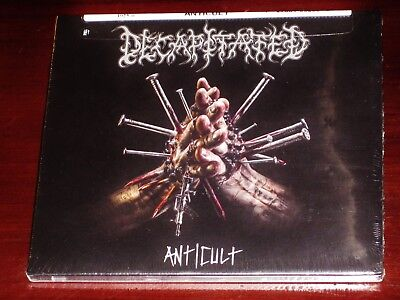 Decapitated: Anticult CD 2017 Nuclear Blast Records USA NB 3925-0 Digipak NEW