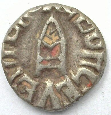 Bundi, India States Ah1979 (1922) Silver 1/2 Rupee Y#17  Choice Extremely Fine