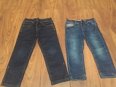 Bundle X2 Boys Skinny Jeans Age 3-4 Years