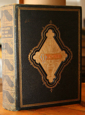 A Thousand and One GEMS OF POETRY by Charles Mackay c 1880 George Routledge 1001