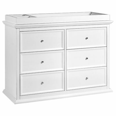 Foothill-Louis 6-Drawer Dresser, White - M3916W