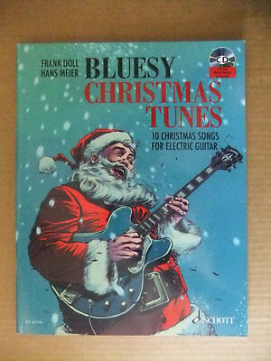 MANGEL Bluesy Christmas Tunes 10 Songs for Electric Guitar Noten mit CD