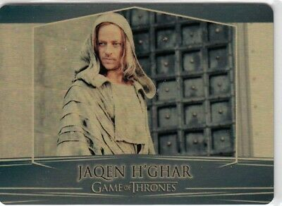 Game Of Thrones Valyrian Steel - Gold Parallel Metal Base Card 41 (060/100)