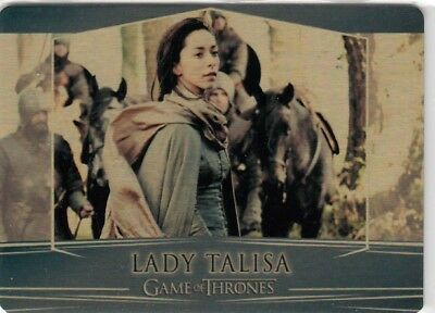 Game Of Thrones Valyrian Steel - Gold Parallel Metal Base Card 66 (007/100)