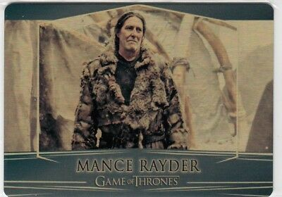 Game Of Thrones Valyrian Steel - Gold Parallel Metal Base Card 92 (018/100)