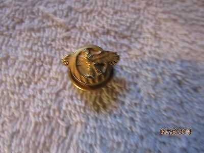 """WWII US Military Small -""""Lame Duck"""" Brass Pin Button"""