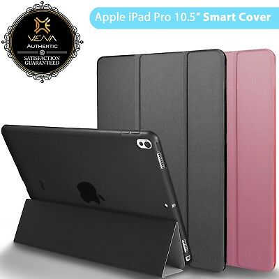For Apple iPad Pro 10.5 Case PU Leather Smart Cover Stand Slim Folio Sleep/Wake