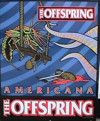 """THE OFFSPRING """"AMERICANA"""" U.S. PROMO POSTER - Insect On Swing & Long Tentacles"""
