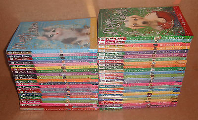 Lot of 43 Books by Sue Bentley Magic Kitten, Puppy, Ponies, Bunny Paperback