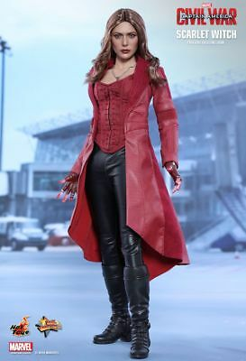CAPTAIN AMERICA 3 - Scarlet Witch 1/6th Scale Action Figure MMS370 (Hot Toys)