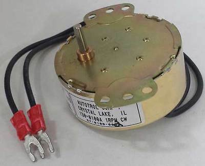 Acroprint Time Recorder Time Clock Motor Fits All Model 125 150 & 200 Timeclocks