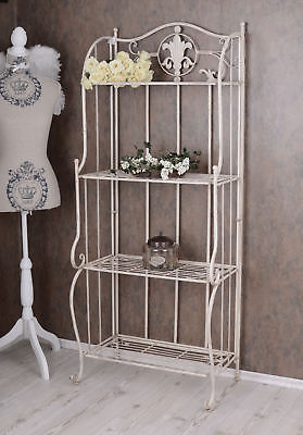 Nostalgia Shelf Metal Shelving ART NOUVEAU IRON SHELF SHABBY CHIC