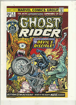 Ghost Rider #8 Vf/nm+