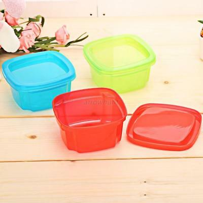 Portable Infant Food Snack Storage Box Toddler Kids Milk Box Container Tableware