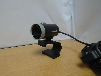 Microsoft LifeCam Cinema 720p HD Wide Angle & Wide Screen USB Webcam 1393