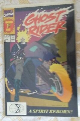 Comic Ghost Rider 1989 Fantastic 1St Issue May 1 A Spirit Reborn Nice
