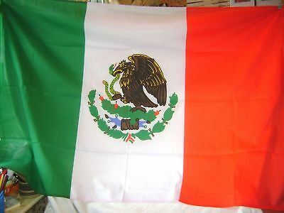 NEW 5 x 3 FOOT (150x90cm) MEXICO MEXICAN  FLAG