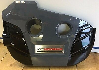 Genuine Ford Focus RS MK3 (2016>) Painted Engine Cover - Stealth Grey
