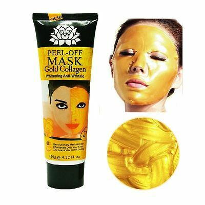 Gold Collagen Facial Face Mask High Moisture Anti Aging Remove Wrinkle Care!