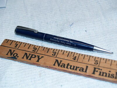 Case farm equipment dealer ad on  blue mechanical pencil (A979)