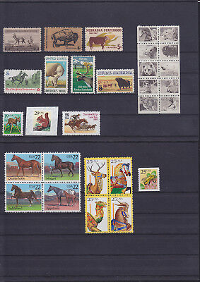 056183 Rotwild Red Deer ... USA Stamps Briefmarken ** MNH - Lot