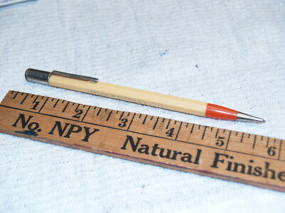 Case logo on yellow and orange Autopoint mechanical pencil (A980)