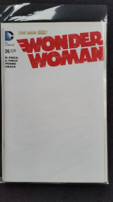 US Wonder Woman# 36 Blank Cover Variant DC