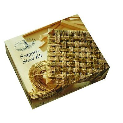 House Of Crafts Seagrass Stool Making Kit Seat Weaving Craft Full Instructions