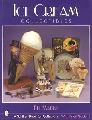 Vintage Soda Fountain Ice Cream Collectible Reference incl Equip, Advert, Glass