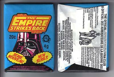1980 OPC Star Wars EMPIRE STRIKES BACK SERIES 2 Wax Pack (x1)