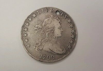 1799 draped bust silver dollar