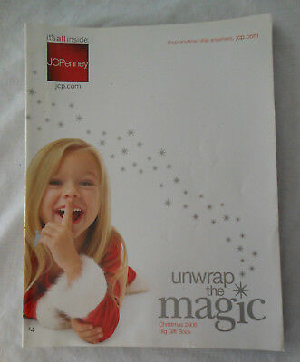 vintage catalog JCPENNEY JC PENNEY PENNEYS 2006 Christmas magic gift book