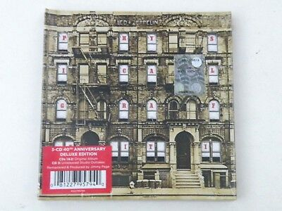 LED ZEPPELIN - PHYSICAL GRAFFITI -3 CD DELUXE EDITION 40th ANNIVERSARY- NEW VRDP