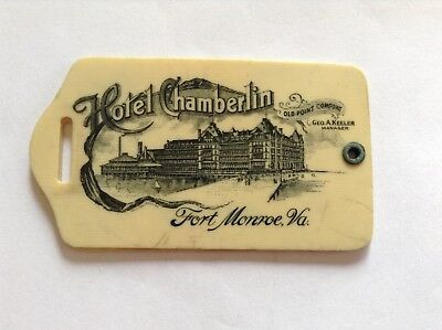 Fort Monroe, Virginia tag, Hotel Chamberlin, Old Point Comfort